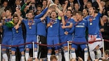 Ivanović heads Chelsea to Europa League glory
