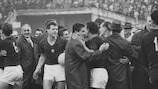 Ferenc Bene erzielte den Führungstreffer für Ungarn