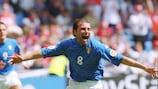 Italia empezó con triunfo en la UEFA EURO 2000