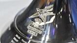 El trofeo de la UEFA Champions League de Fútbol Sala