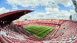 The Estadio Ramón Sánchez-Pizjuán, home of Sevilla