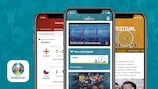 Follow UEFA EURO 2020 with the official app