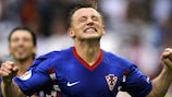 Ivica Olić after scoring the decisive goal