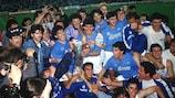 Maradona lideró la victoria napolitana