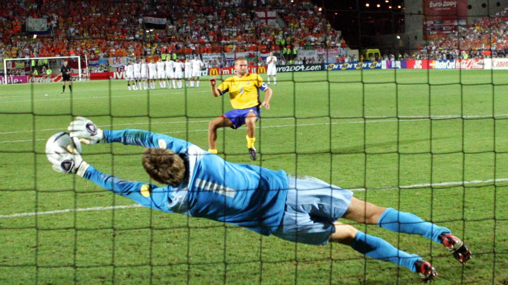 Sweden v Netherlands: The full EURO 2004 shoot-out   UEFA EURO ...