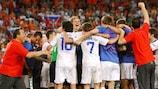 Rusia celebra la victoria en Basilea