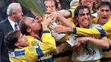 Crespo lidera el triunfo del Parma