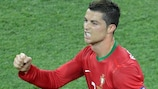 Cristiano Ronaldo was in unstoppable form against the Netherlands