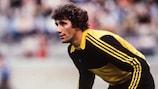 Jean-Marie Pfaff stays alert during the 1980 final