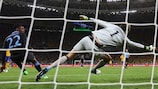 Danny Welbeck scores England's winner against Sweden