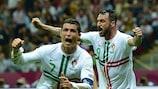 Ronaldo quebra resistência checa