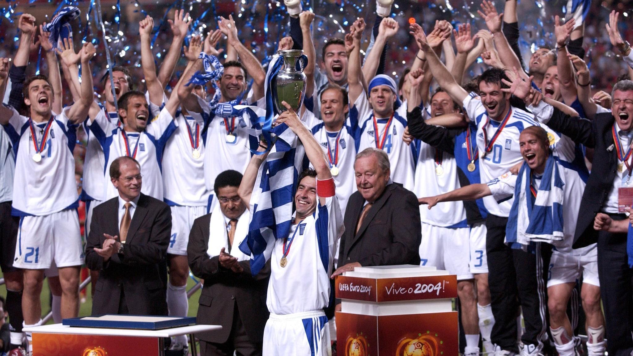 Stars recall Greece's EURO 2004 triumph against the odds   UEFA EURO 2020   UEFA.com