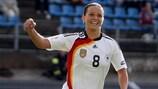 Inka Grings traf bei den Endrunden 2005 und 2009 am besten