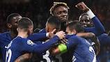 Il Chelsea è in svantaggio di tre gol contro il Bayern