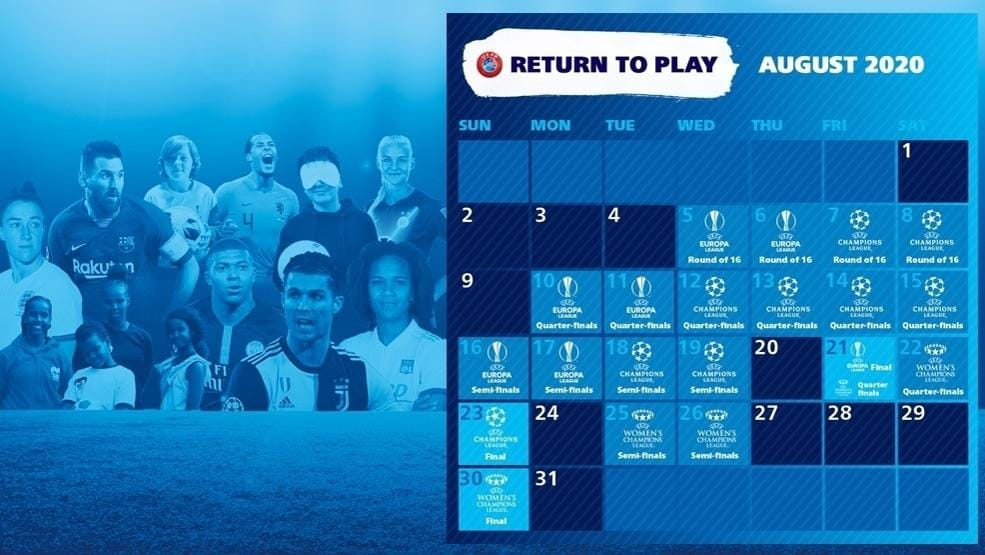 Calendario Competizioni UEFA aggiornato | La UEFA | UEFA.com