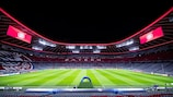 O Bayern vai receber o Chelsea na Football Arena Munich