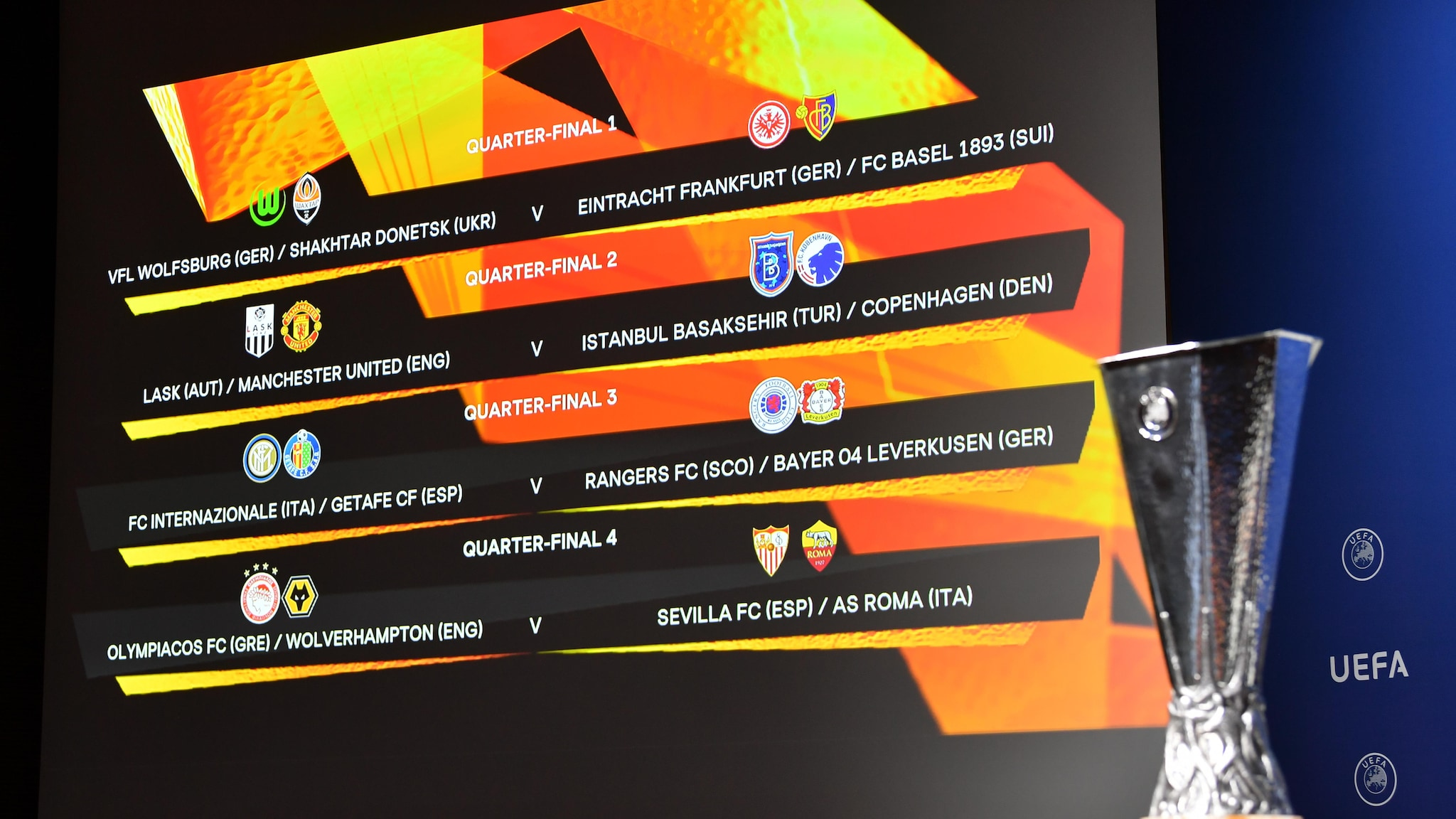 europa league quarter final and semi final draws and schedule uefa europa league uefa com europa league quarter final and semi
