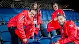 Voluntarios para apoyar la UEFA EURO 2020
