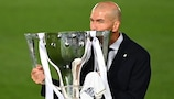 Zinédine Zidane savoure sa deuxième Liga sur le banc