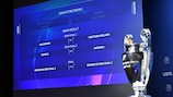 The 2020/21 UEFA Champions League preliminary round draw was held in Nyon