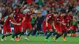 Португалия вышла в полуфинал ЕВРО-2016 после серии пенальти