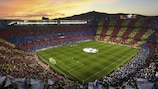 Barcelona have not lost in 35 UEFA Champions League matches at Camp Nou