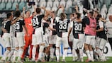 Juventus have wrapped up their ninth consecutive Serie A title and 36th overall