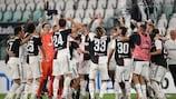 A Juventus conquistou o seu nono título da Serie A consecutivo e o 36º no total