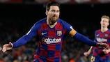 Messi , clave como siempre en el Barcelona