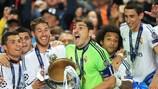 Iker Casillas bei Real Madrids Champions-League-Sieg im Jahr 2014