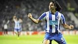Radamel Falcao marcou que se fartou com a camisola do FC Porto