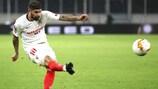 Éver Banega volvió a ser clave para el Sevilla