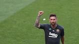 Auf Lionel Messi  ruhen die Hoffnungen des FC Barcelona