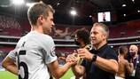 Trainer Hansi Flick und Thomas Müller sind zwei der Erfolgsgaranten der Bayern
