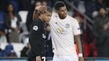 Youth League alumni Kylian Mbappé and Marcus Rashford in UEFA Champions League action