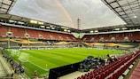 Stadion Köln is staging the UEFA Europa League final