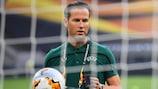 Danny Makkelie prepares for the UEFA Europa League final