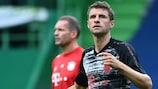 Thomas Müller is enjoying his football under Hans-Dieter Flick