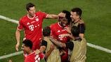 Kingsley Coman köpfte die Bayern zum Triumph in der Champions LeagueGetty Images