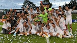 Madrid were 3-2 winners against Benfica in the final