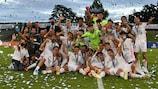 O Real Madrid venceu a prova pela primeira vez