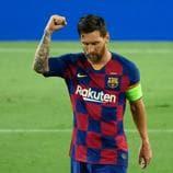 Ponte cómodo y disfruta de cada uno de los 115 goles que ha marcado Lionel Messi en la UEFA Champions League. ¡12 minutos de disfrute!
