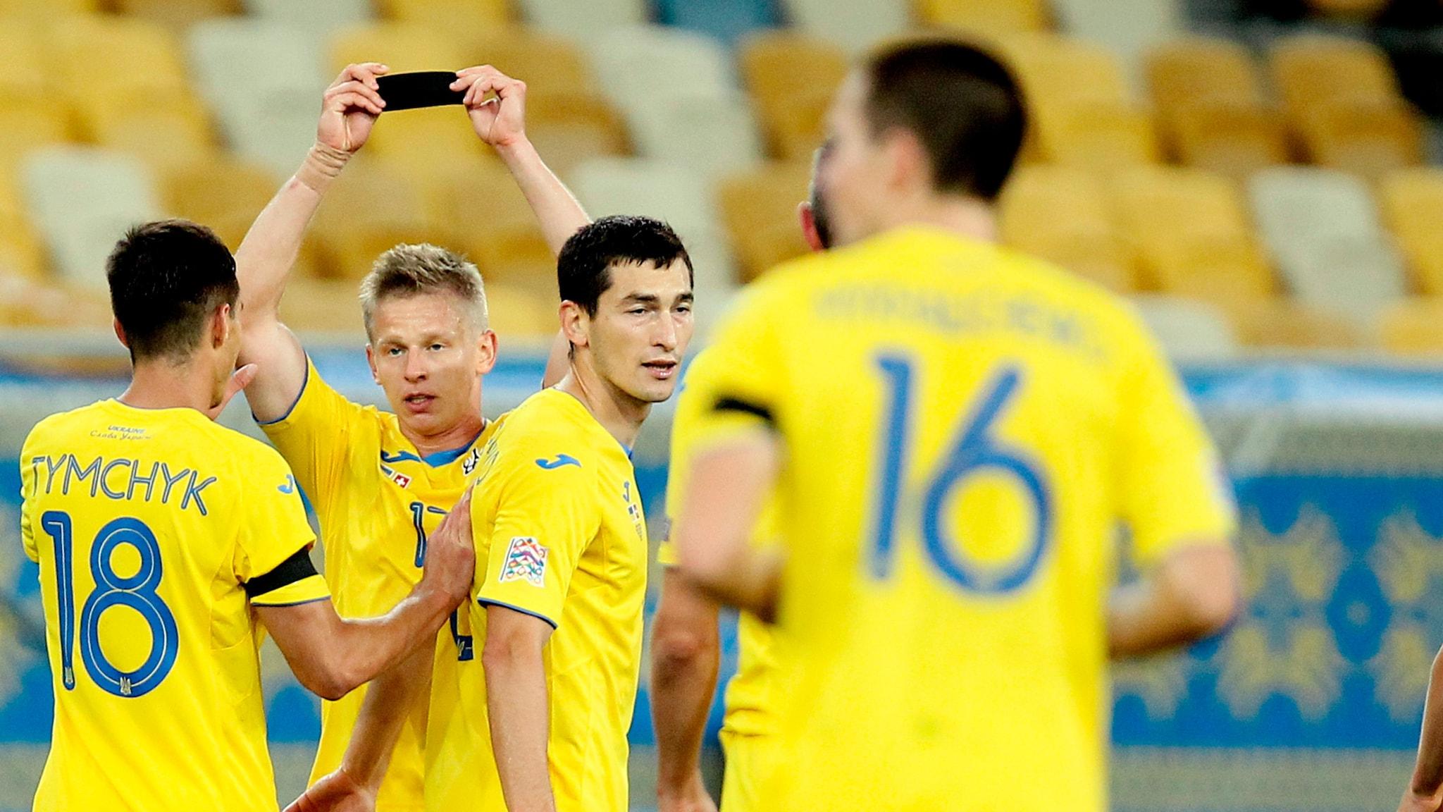 Ukraine 2-1 Switzerland: report