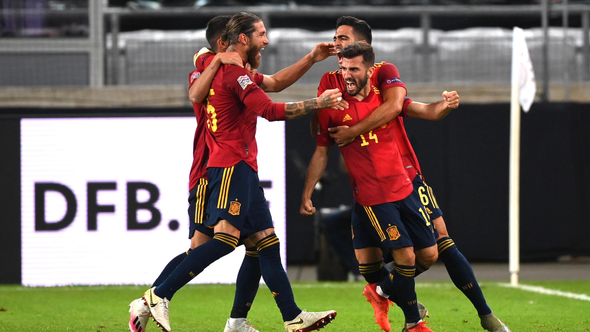 Germany Spain Germany 1 1 Spain Gaya Saves La Roja Uefa Nations League Uefa Com