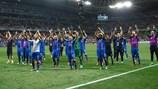 L'Islande célèbre une victoire historique sur l'Angleterre à Nice en 2016