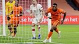 Steven Bergwijn marcou o golo da vitória dos Países Baixos