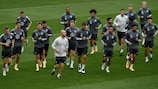 Germany train ahead of the game