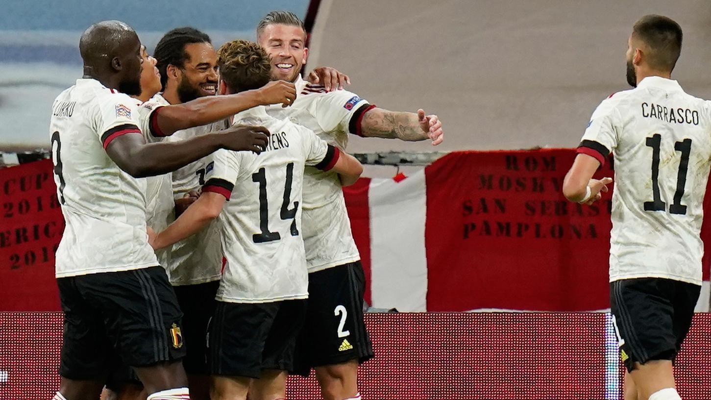 Denmark 0-2 Belgium: report