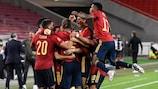 Испанцы вышли в финальную стадию