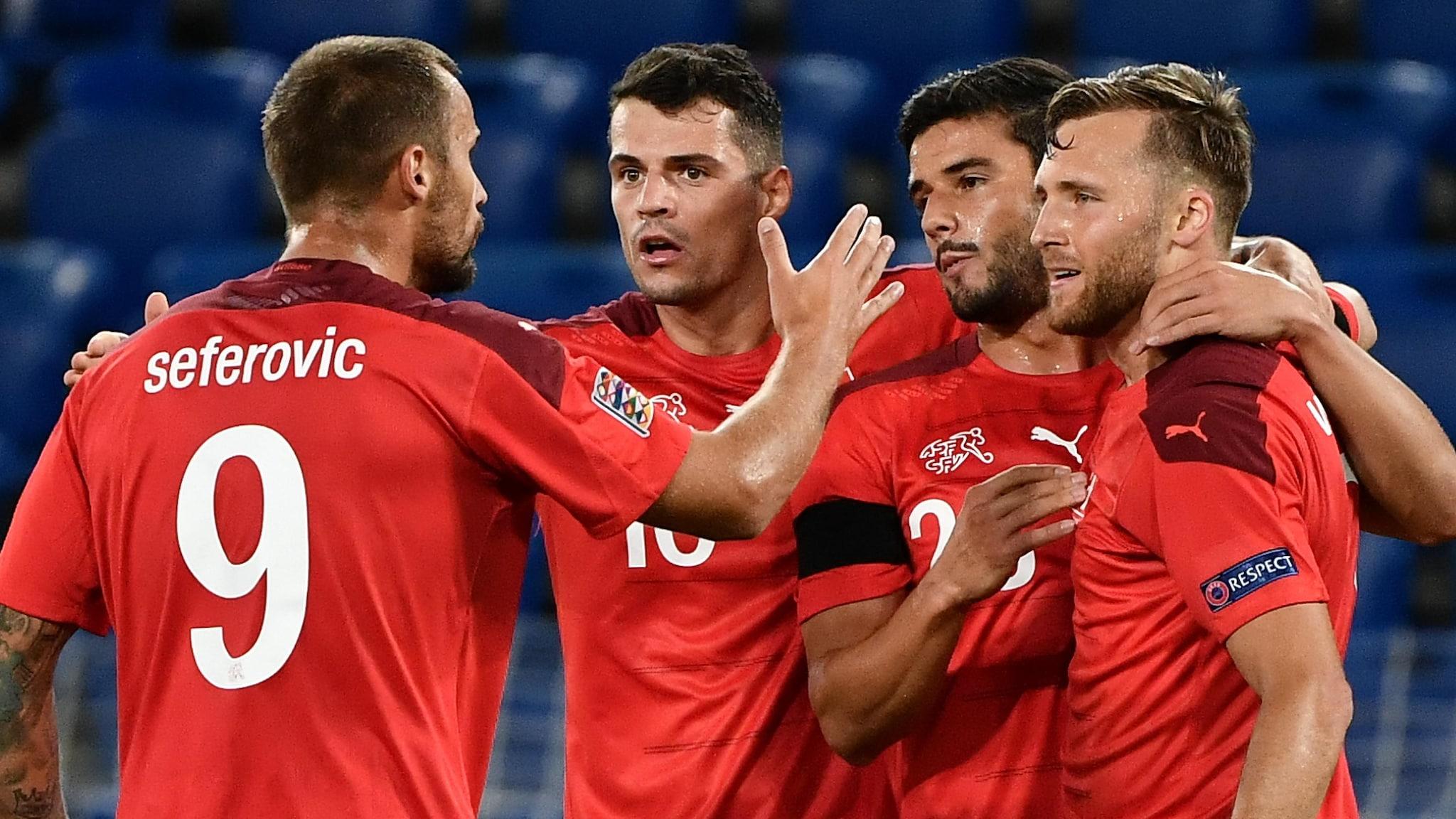 Switzerland 1-1 Germany: report